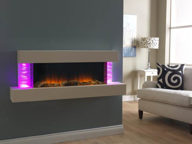 Essence Luma 1360 Stoke Gas Electric Fireplace Centre