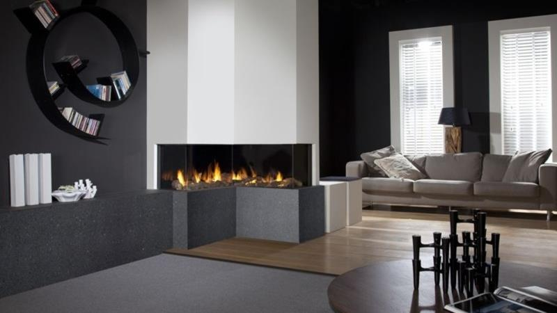 Faber Respect IC Gas Fire Stoke Gas Electric
