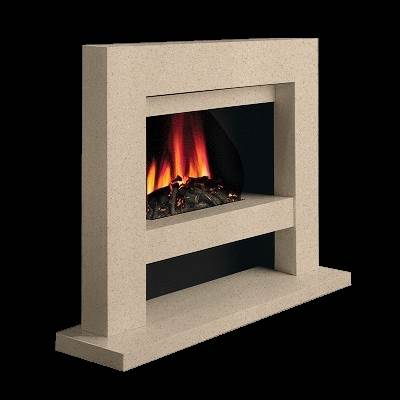 Brilliant Slab E Stoke Gas Electric Fireplace Centre
