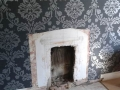 Old fireplace removed ready for new installation