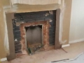 Removal of original fireplace