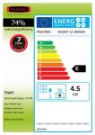 Energy label Regent LFE
