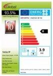Energy label Fantasy BF