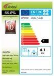 Energy label Arana Plus