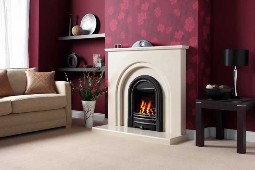 Clarissa Fireplace