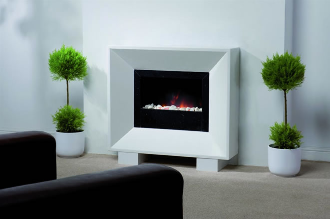 Cubic Fireplace