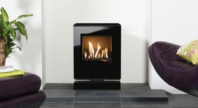 small gas stove fireplace. Simple Gas Gazco U2013 Riva Vision Gas Stove Small For Fireplace A