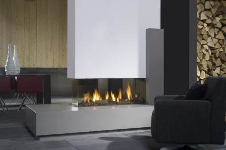 Bell Fires View Bell Room Divider Large | Stoke Gas & Electric ...
