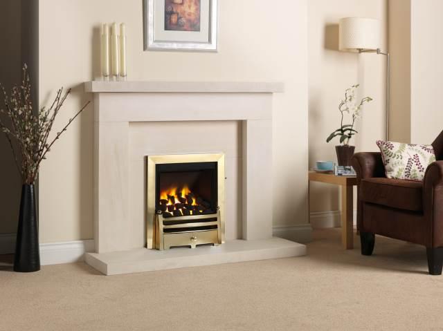 Paragon 2000 Low Lintel Stoke Gas Amp Electric Fireplace