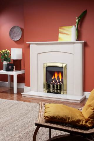 Flavel Caress Stoke Gas Amp Electric Fireplace Centre