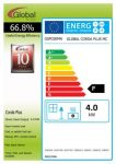 Energy label Corda Plus