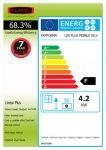 Energy label linear plus