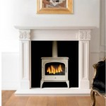 Bloomsbury Gas Stove Ivory