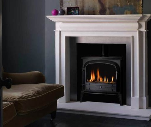Bloomsbury Gas stove Black