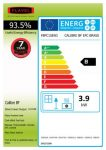 Energy label Calibre BF
