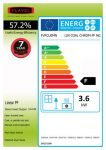 Energy label Linear Powerflue