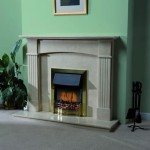 Fluted Arch Fireplace