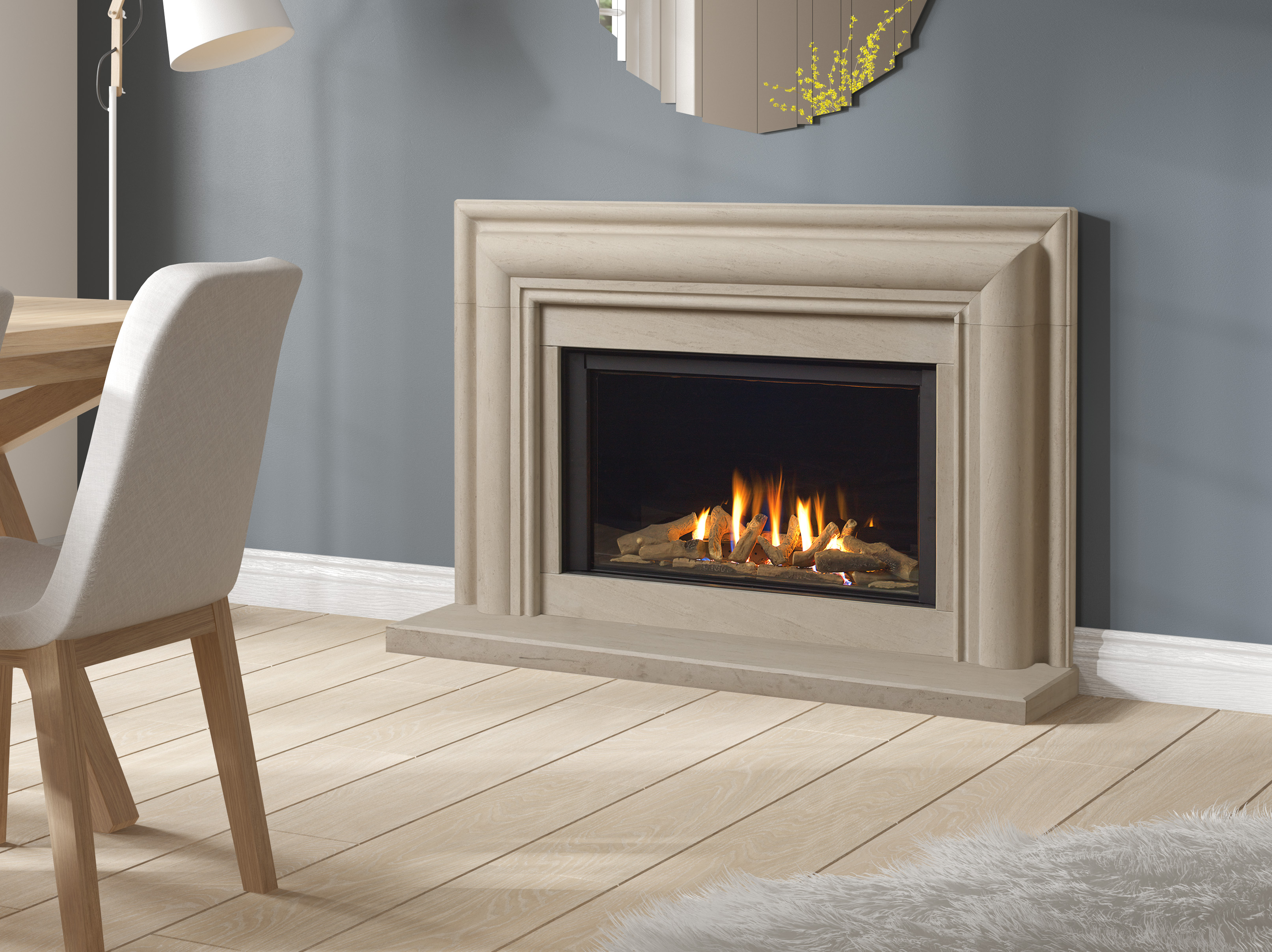 Infinity 780bf Stoke Gas Amp Electric Fireplace Centre