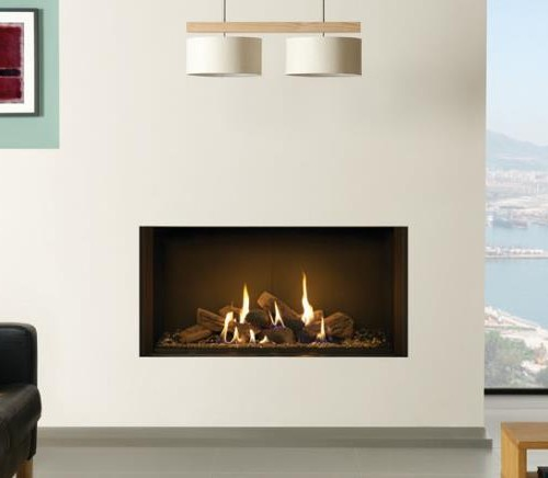 Riva 2 1050 Edge Balanced Flue gas fire