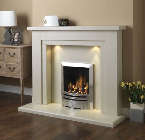 Hanley 54 Suite Perla with brushed grace gas