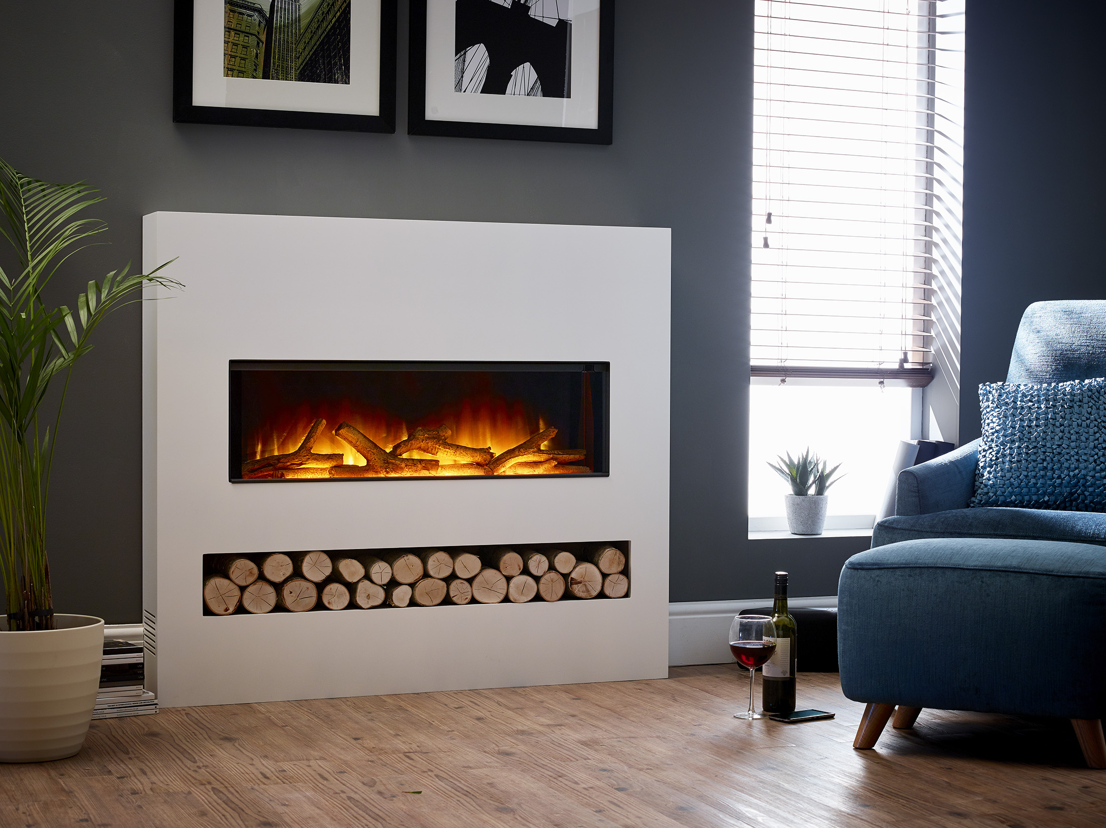 Essence Gotham 900 Stoke Gas Amp Electric Fireplace Centre