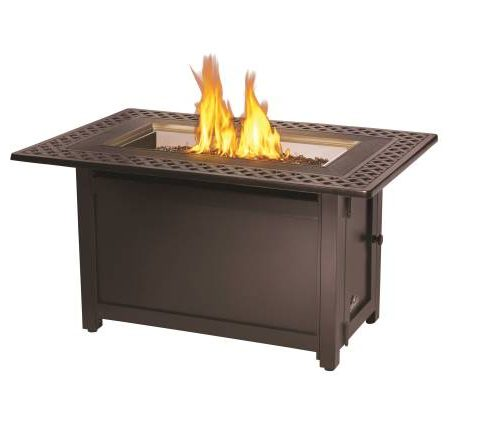 Napolean Victorian Rectangle Fire table