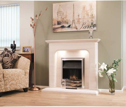 Newman Birre fireplace