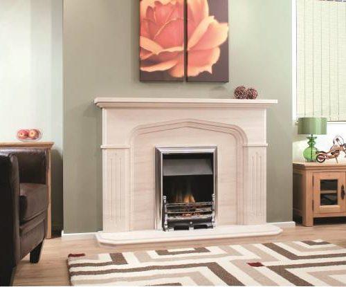 Newman Palermo fireplace