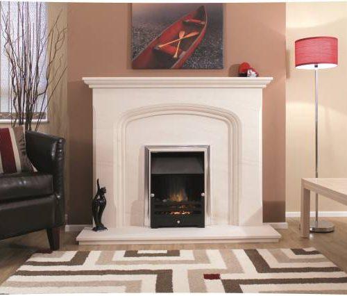 Newman Safira fireplace