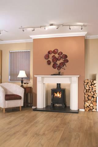 Newman Setubal fireplace