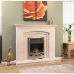 Newman Silver Coast fireplace