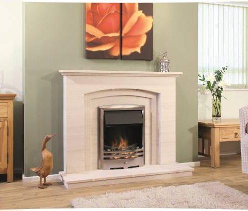 Newman Silver Coast fireplace
