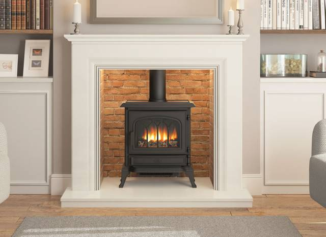 Elgin Amp Hall Odella Marble Fireplace Stoke Gas