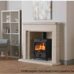 FX5W Leighton Gold Quartz liners Limestone Back Hearth