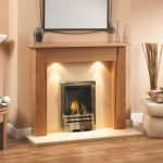 Alderley Fireplace Clear Oak