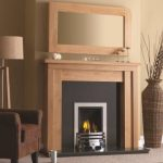 Ashford Fireplace & Portland Mirror