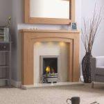 Chelsea Arch Fireplace & Kingston Mirror