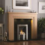 Chelsea Fireplace Matt Oak