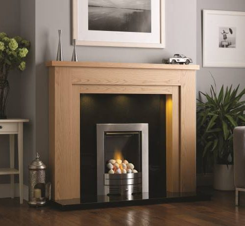 Chelsea Fireplace Matt Oak