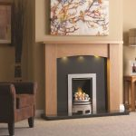 Didsbury Clear Oak Fireplace