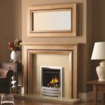 Haversham Clear oak & Warm Oak - Albany Mirror