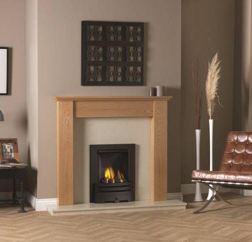 Rothbury Fireplace Celtic Oak