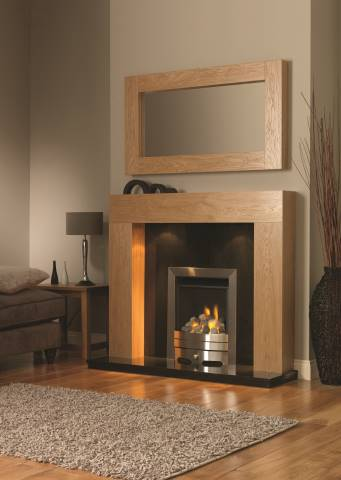 Windsor fireplace and Portland Mirror