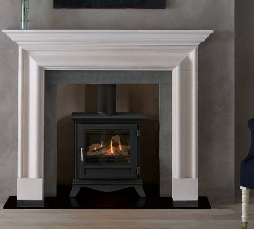 Chesneys Beaumont Gas Stove large black