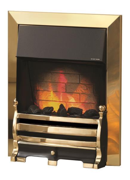Pure Glow Daisy Eglo Electric Fire Stoke Gas