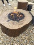 Elementi Burning Stump fire pit