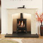 Newman Moncado fireplace