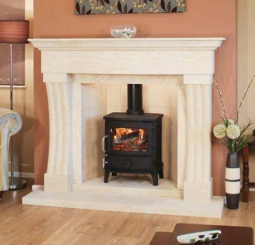 Newman Taberno fireplace
