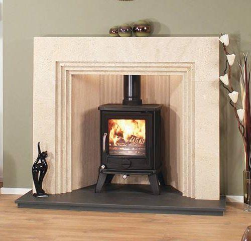 Newman Talavera fireplace