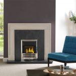 Penman Arlington Limestone fireplace